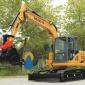 恒特挖掘�C-HT90履��式挖掘�C